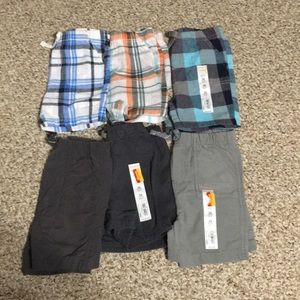 (6) 24 month boys shorts